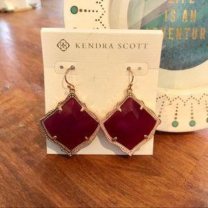 Kendra Scott Kirsten Earrings- Rose Gold